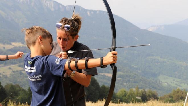 Camp estivi in Trentino - tiro con l'arco