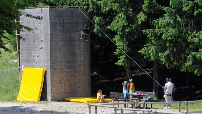 Camp estivi in Trentino - arrampicata