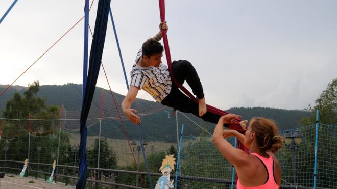 Camp estivi in Trentino - tessuti aerei