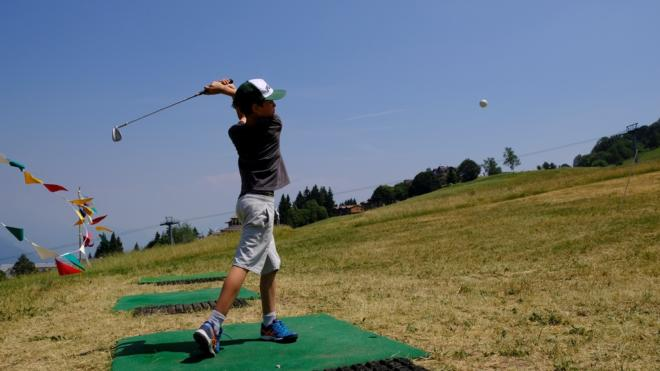Camp estivi in Trentino - golf