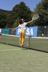 tennis camp per bambini